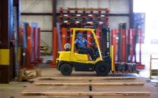 Hyster-fork-lift
